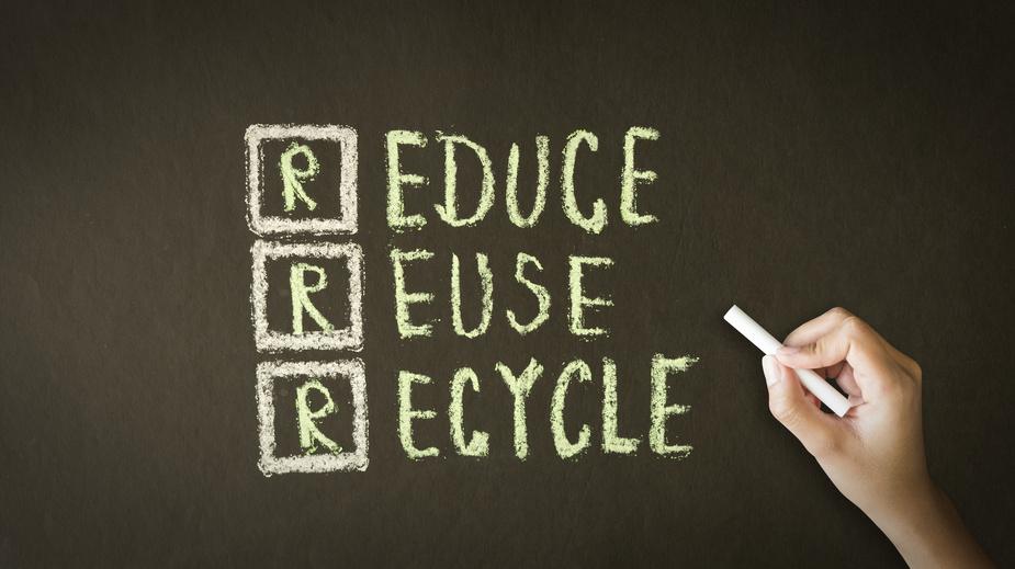 Réduction, réutilisation, recyclage